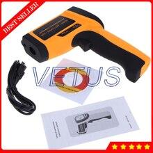 GM1651 Digital Sin Contacto Termómetro infrarrojo con rango de Instrumento de Medición de Temperatura-30 ~ 1650C