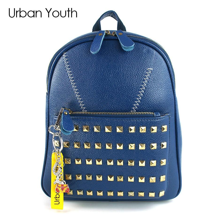 Urban Youth Fashion Women Backpack High Quality PU Leather Backpack for Teenage Girls Female School Shoulder
