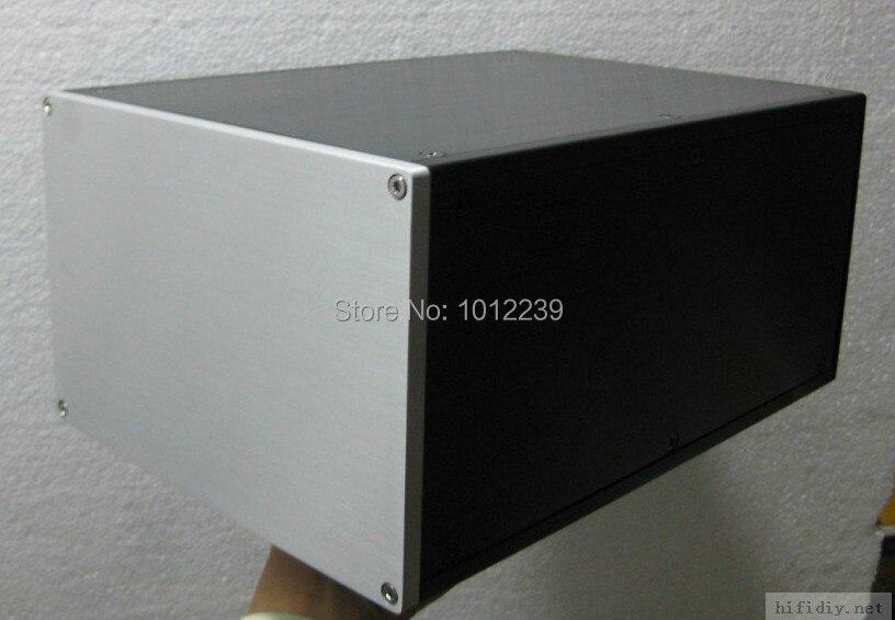 где купить  hot sale power supply aluminum chassis / amplifier chassis / power supply box size 221.5mmX150mmX311mm  по лучшей цене