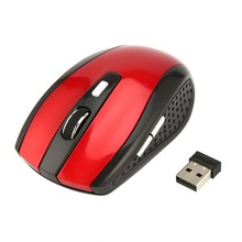2 4GHz Wireless Mouse Portable Intelligent font b Gaming b font Mouse Optical Rolling Gamer Mice