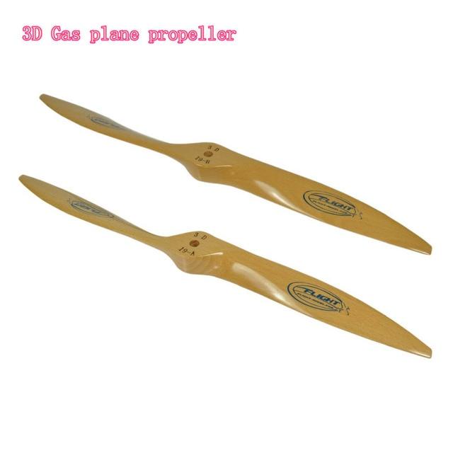 Hélice en bois de hêtre modèle de vol, pour avion, vol 3D gaz, 21x8 21x10 22x8 22x10 23x8 23x10 24x8 24x10