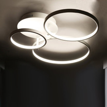 modern ceiling led circle flush mount led ceiling light fixtures for bedroom home lighting single double