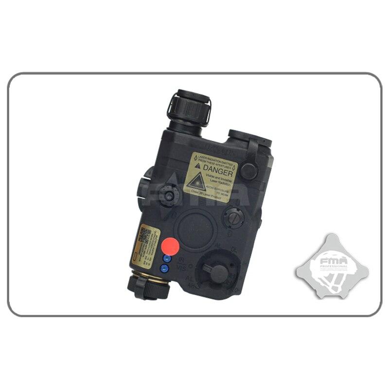 FMA PEQ-15 LA5 Version mise à niveau LED lampe de poche blanche + laser rouge avec lentilles IR fusil de chasse tactique Airsoft boîte de batterie TB0074 - 4