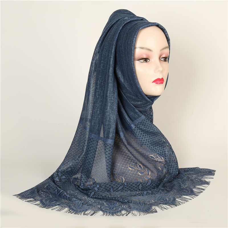 New Headband Scarves For Women Fashion Tassels Shawls And Wraps Hollowed Out Floral Printed Winter Scarf Hijab Femme Pashmina