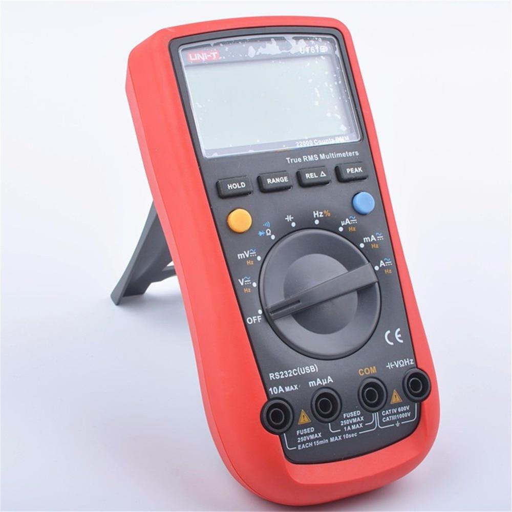 UNI-T UT61E Modern Digital Multimeters UT-61E AC DC Meter uni uni t ut136b дешевый метр autoranging
