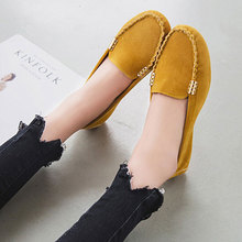 Hot Sale 2016 Summer Woman Flats New Fashion Pure Color Wild Concise Flat Casual Shoes Round Toe Comfortable Female Shoes aDT81