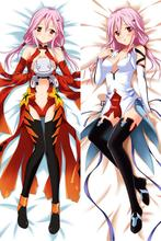 Giruti Kuraun anime Characters sexy girl yuzuriha inori GC pillow cover Guilty Crown body Pillowcase Custom  стоимость