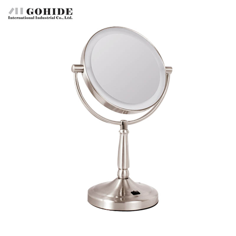 Gohide Luxuray 7 Inch Led Screen Plug In Battery With Light Vanity Mirror  Double FacedCompare Prices on Bathroom Round Mirror  Online Shopping Buy Low  . Plug In Vanity Mirror. Home Design Ideas