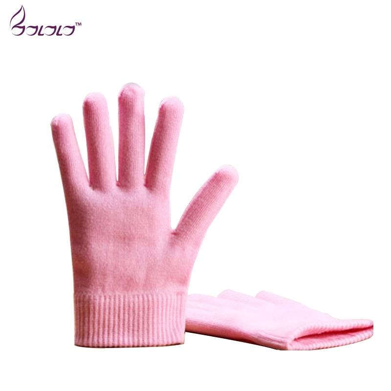 gel spa gloves moisturizing whitening exfoliating pink mask s