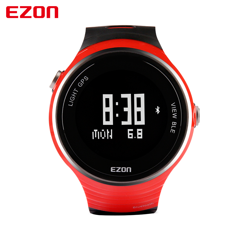 2018 Top Selling EZON G1A01 GPS Bluetooth pedometer Smart Intelligent Sports Digital Watch for IOS Android Smart Phone ezon g2 smart sports bluetooth gps electronic watch gym running jogging fitness calories counter digital watch for ios android