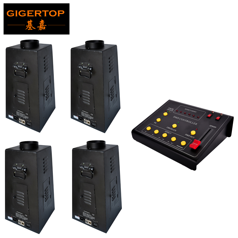 Gigertop TP-T156 350W DMX Fire Effect Flame Thrower DJ Stage Projector Machine Party Show with Effect Controller DMX Console dmx lpg fire machines controller for flame machine dmx outdoor events for party ktv stage performance special effects