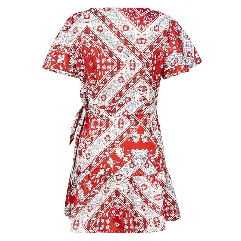 6 vieunsta vintage floral imprimir praia vestido de verão das mulheres novas com decote em v plissado uma linha de mini vestido elegante vestido plissado vestido de verão cinto - HTB1anvTaTHuK1RkSndVq6xVwpXaV - VIEUNSTA Vintage Floral Imprimir Praia Vestido de Verão Das Mulheres Novas Com Decote Em V Plissado Uma Linha de Mini Vestido Elegante Vestido Plissado Vestido de Verão Cinto