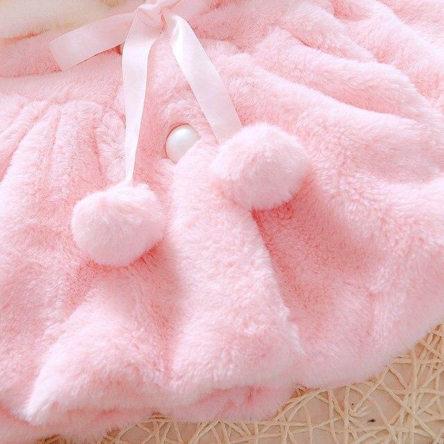 Infant Newborn Baby Girl Coat  4
