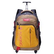 Модная багажная сумка на колесиках, Повседневная дорожная сумка для компьютера на колесиках, вместительный ультра-светильник, универсальный чемодан на колесиках
