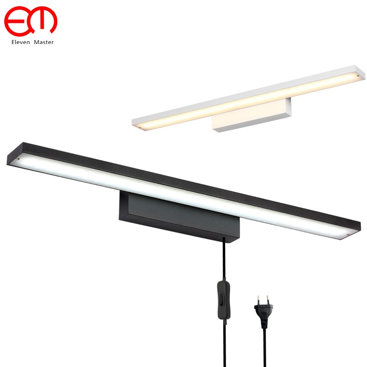 Modern brief led mirror light bathroom bedside wall lamp personality Wall sconce reading light bedroom Wall light RML0003Modern brief led mirror light bathroom bedside wall lamp personality Wall sconce reading light bedroom Wall light RML0003