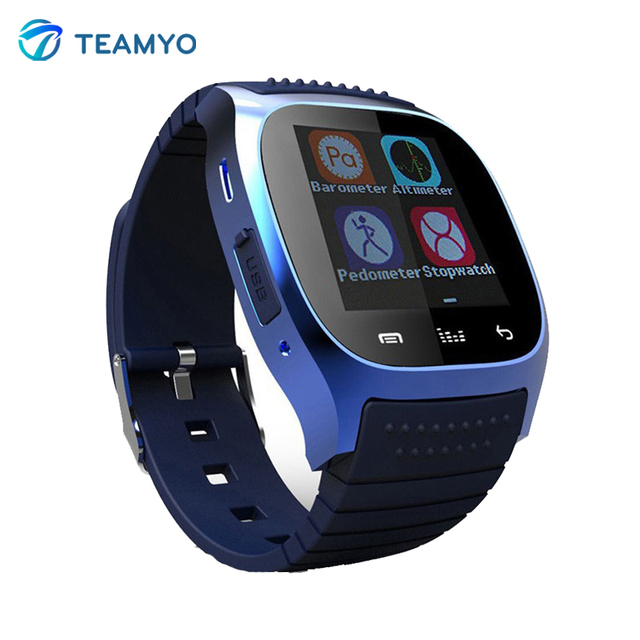 M26 smart watch smartwatch android com whatsapp lembre sms pedômetro wearable dispositivos para samsung huawei xiaomi