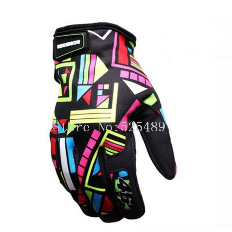 Brand Print Motorcycle Gloves Motocross Racing Gloves font b Motorbike b font Outdoor Ride Gloves guantes