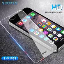 SMORSS 2 PCS New Phone Protection Film for iphone 5 5s 5c SE HD Anti-Blu-ray Tempered Glass Eye Films