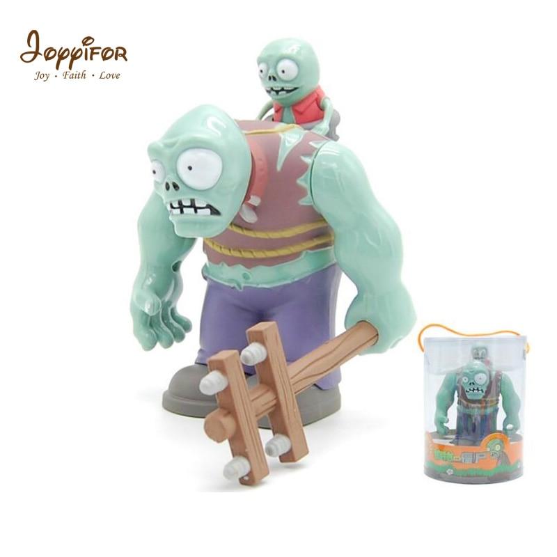 Joyyifor Plants vs. Zombies PVZ BIG Zombie The Building Blocks Figures Diy Model LegoANG Education Toys For Children Gift цена