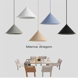 Kreatywny Nordic Macaron reszta aura nt LED żyrandol osobowość aluminium aura kolor lampa proste Cafe Bar lampy darmowa wysyłka|Wiszące lampki|   -