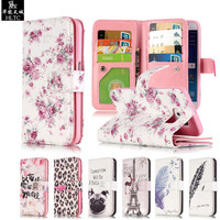 For Coque Samsung Galaxy S6 Case Wallet Leather Silicone Phone Case Samsung Galaxy S6 Cover 3D