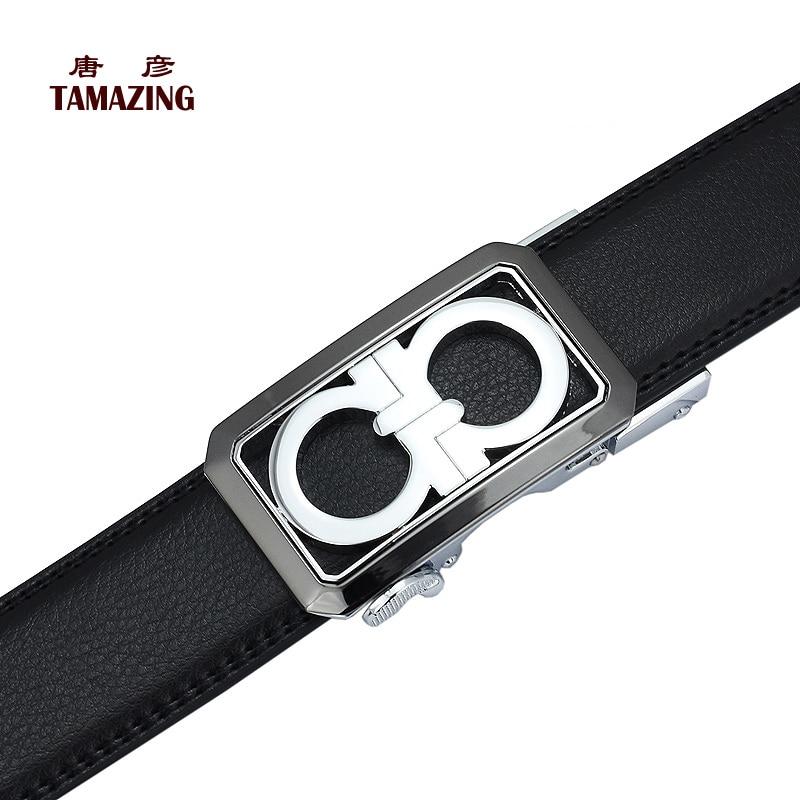 men's genuine leather belts
