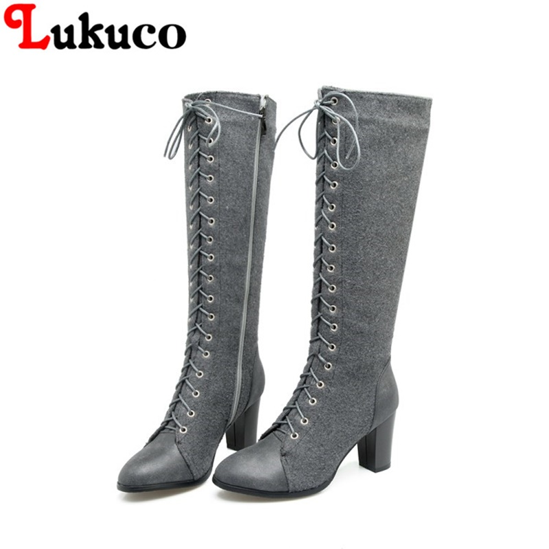2018 NEW SALE lace-up boots large CN size 41 42 43 44 45 46 47 48 round toe design women sexy shoes real pictures free shipping high quality full grain leather and pu martin boots size 40 41 42 43 44 zipper design lace up decoration round toe boots