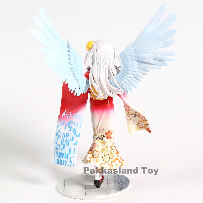 Figura de ação Modelo Decoração Beleza Meninas Anjo Tachibana Kanade Angel Beats Animação kimono ver 1/8 Figura Brinquedos Presente