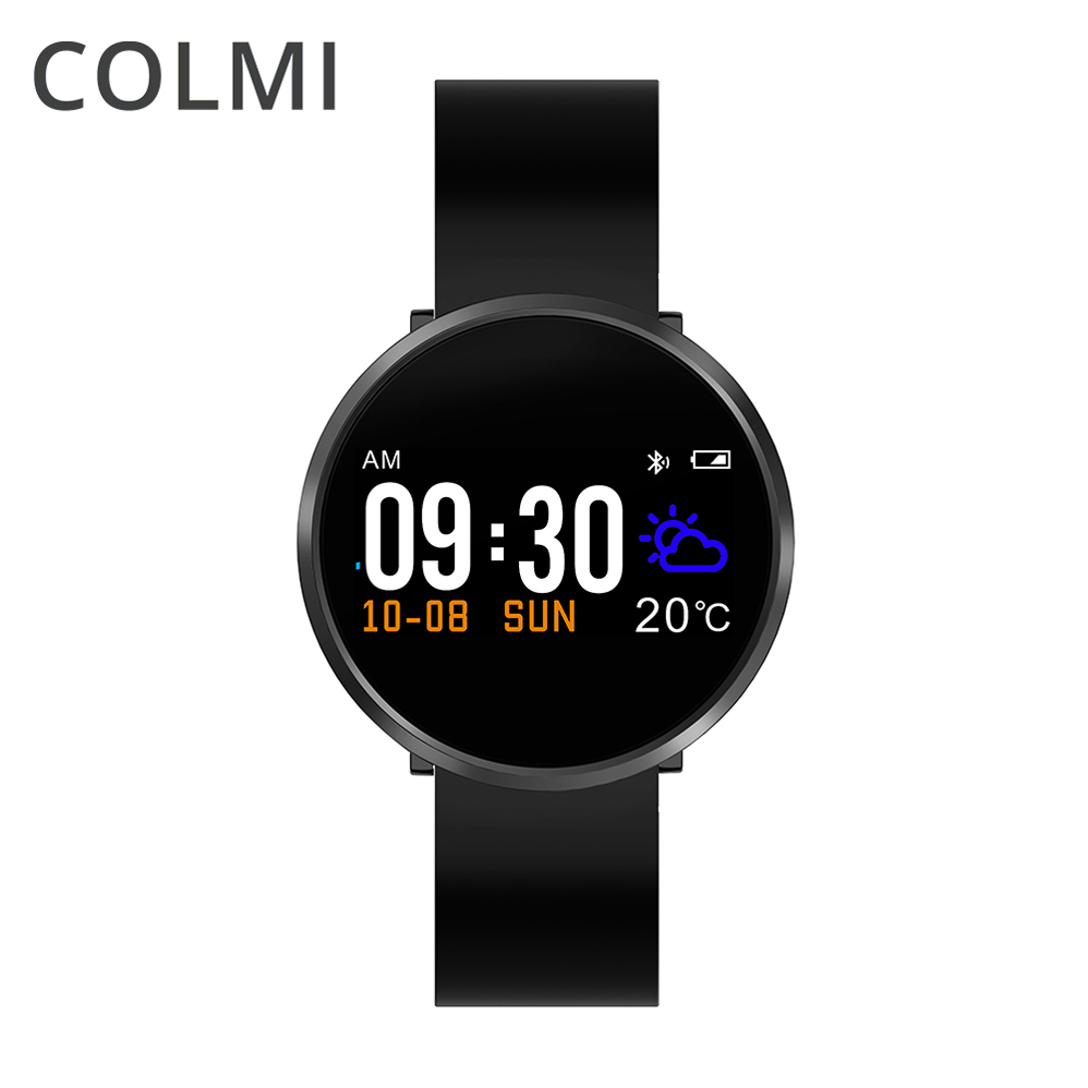 COLMI Smart Bracelet Blood Pressure Heart Rate Monitor Blood Oxygen Monitor IP68 Color LCD fitness Tracker for Andriod IOS