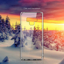 цены For Samsung Galaxy Note 9 Case Hard Plastic Acrylic Cover Note9 Clear Transparent Phone Cases For Samsung Note 9 Case Cover