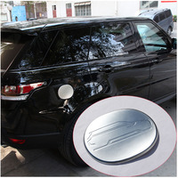 ABS Chrome Fuel Tank Cap Cover Trim For Land Rover Range Rover Sport 2014 2017 Car Accessories