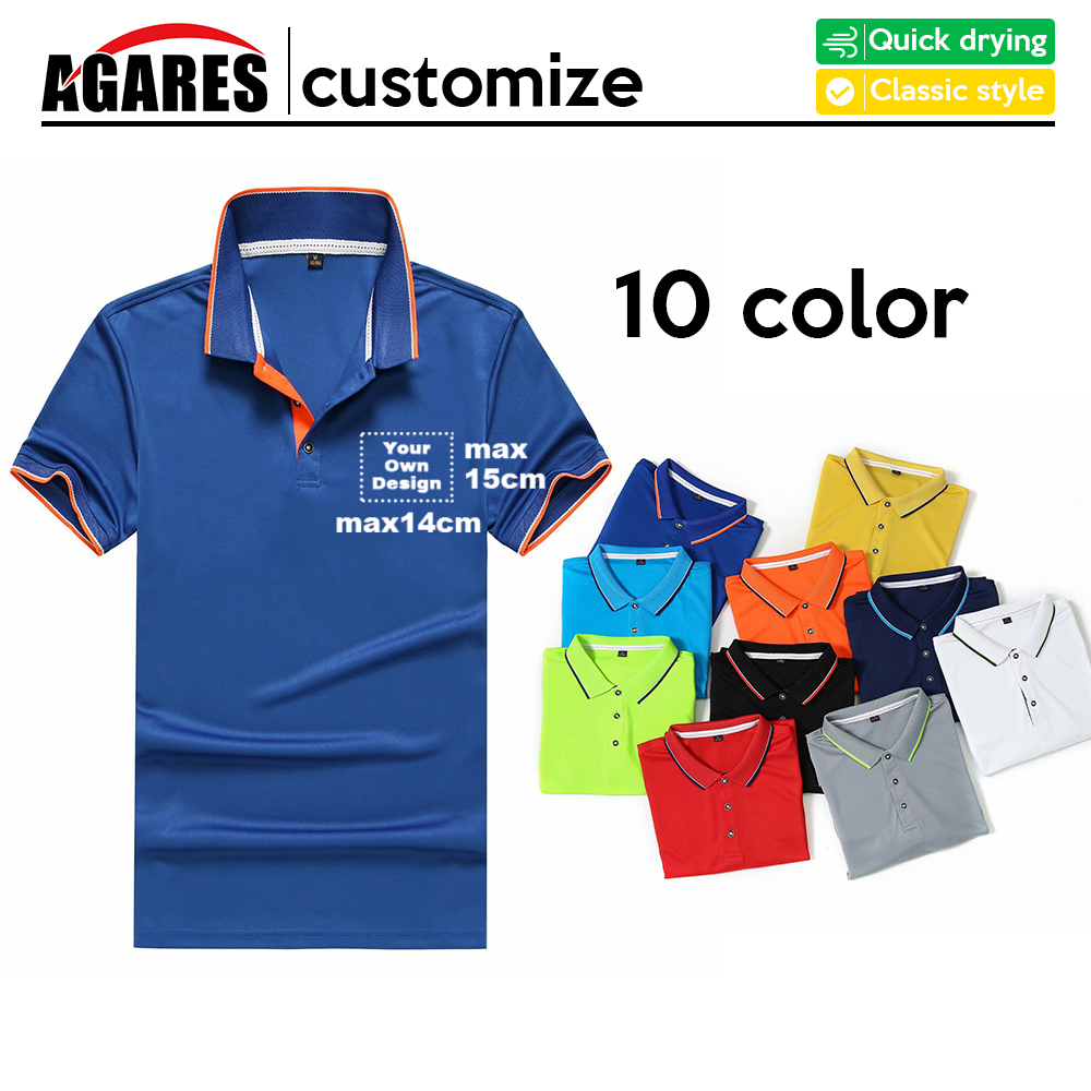 Breathable Men's   Polo   Shirt For Men Desiger   Polos   Men Quick drying Short Sleeve shirt Clothes jerseys golf tennis 120 Plus S-8