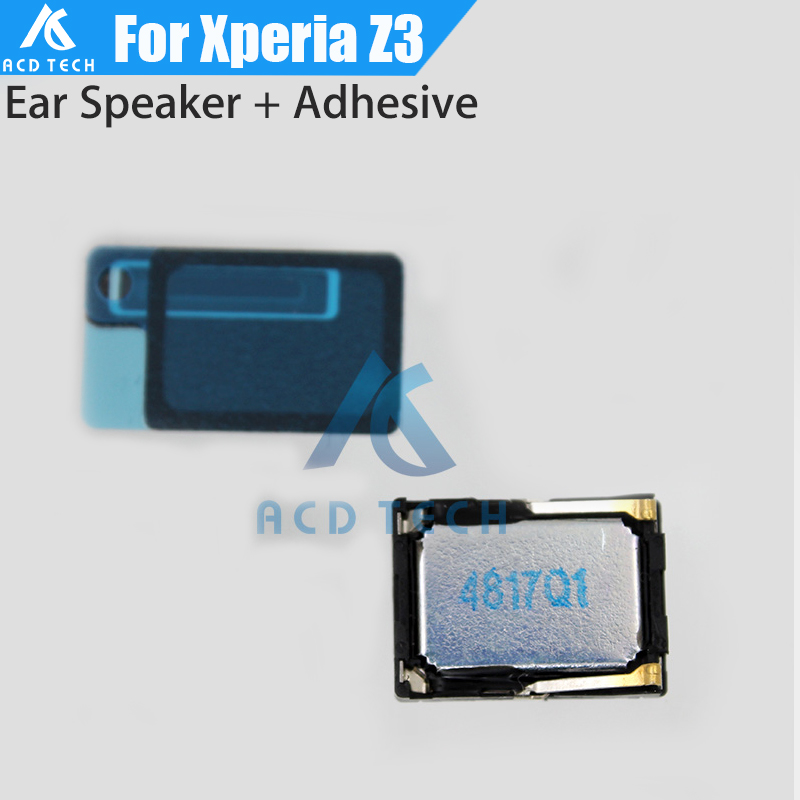 Original For Sony Xperia Z3 D6603 D6653 D6633 Dual Top Ear Speaker Earpiece Headset Buzzer With Waterproof Adhesive Sticker