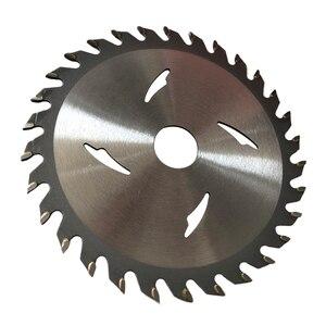 Image 2 - Hoge 1 Pc 125/110 Mm * 20 Mm 24T/30T/40T Tct Saw blade Hardmetalen Hout Slijpschijf Voor Diy & Decoratie Algemeen Hout Snijden