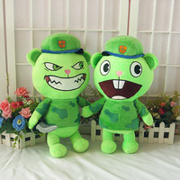 Happy Tree Friends plush dolls Anime HTF Flippy plush toys 40cm soft pillow high quality for gift