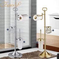 FOAP toilet brush holder Tissue Holder adjustable Bathroom Accessories Toilet Paper Holders Bathroom Sanitary