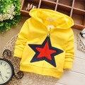 Free shipping Spring New pentagram cardigan jacket for children,baby boy sweatshirt,kid hoodies#Z950B