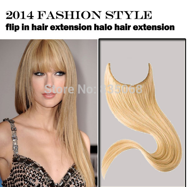 Top Quality Mix Color Peruvian Remy Wig Fish Wire Halo Wig Extension