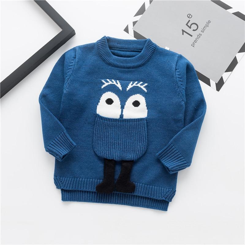 Moda uşaq kazak payız qış isti oğlanlar trikotaj tursweaters - Uşaq geyimləri - Fotoqrafiya 2