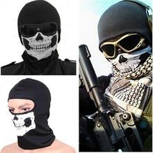 Balaclava de motocicleta, máscara facial completa com capuz, crânio, esqui, capacete, motociclista, máscara, cachecol, chapéu