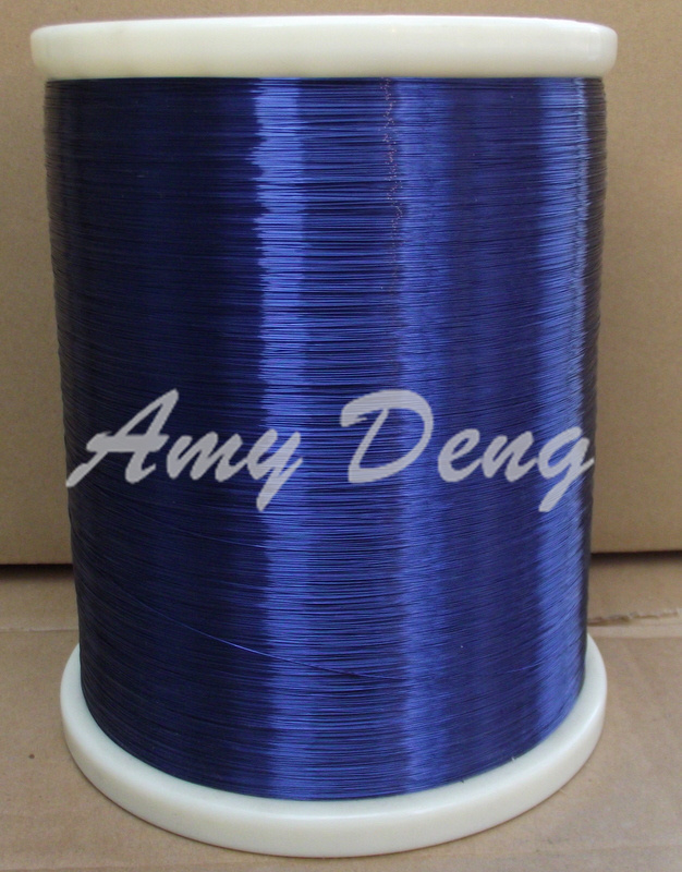 500 Meters/lot  0.35mm New Polyurethane Enamelled Round Winding Blue Enameled Wire QA-1-155