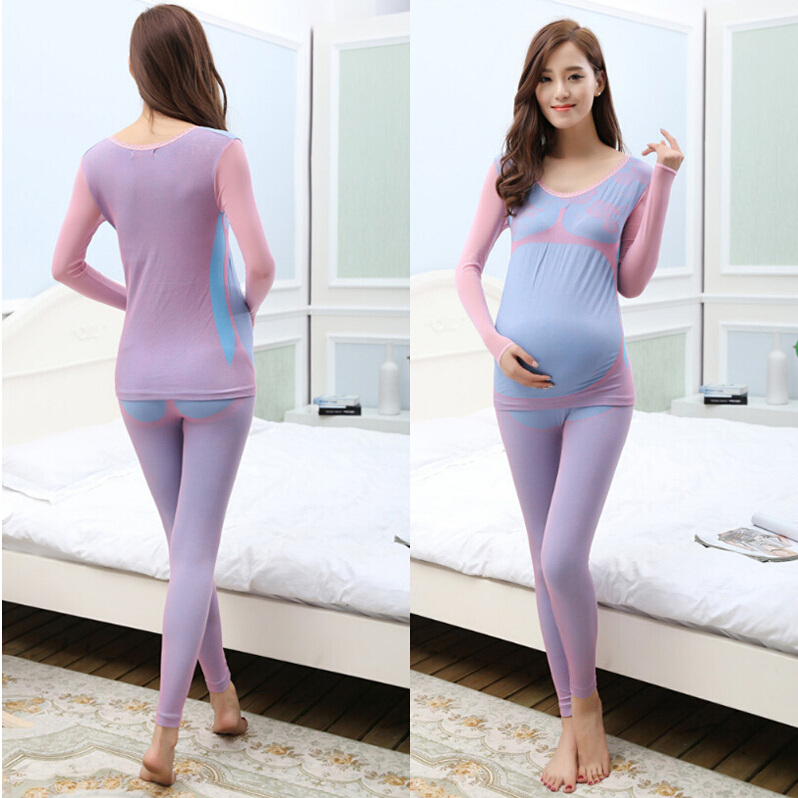 3 Colors And Free Size Autumn and Winter Women Maternity Sleepwear Pregnant Pajamas And Comfortable Nightgown Free Shipping