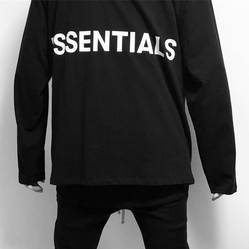 ba143c29 Detail Feedback Questions about TOP Best Quality 2018 new Fear Of God  Essentials Men Women Graphic Cotton Hip Hop Streetwear Casual Long Sleeved T  Shirt S ...