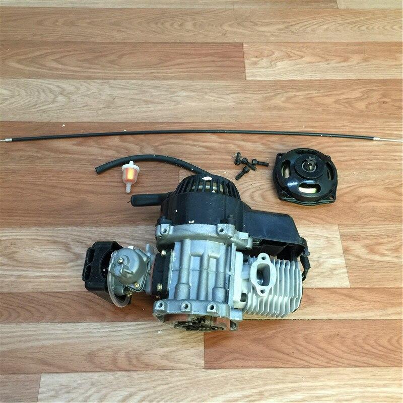 STARPAD pour moteur deux temps 49CC mini voiture sport utilitaire véhicule moteur essence génération moteur à main 40 #
