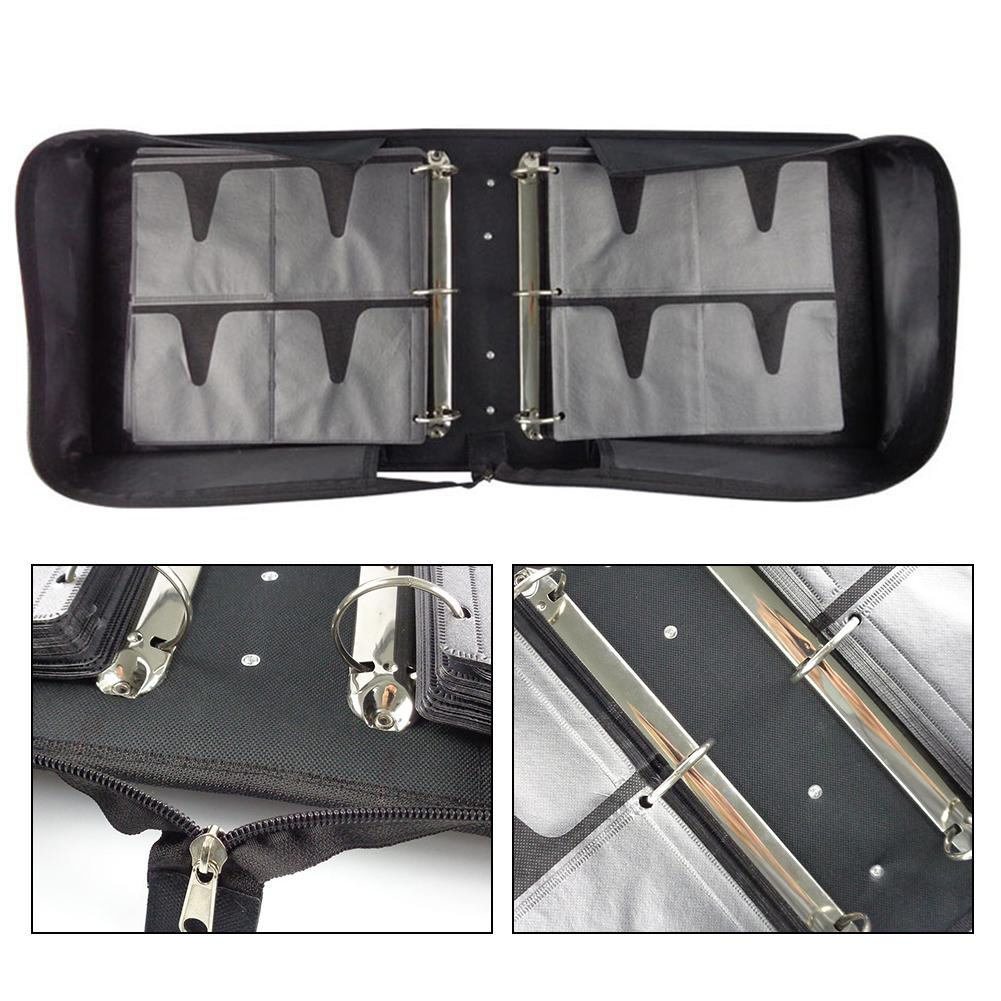 500 Disc Oxford Cloth CD Box DVD Storage Case Carrying Bag Organizer Holder 1pcs 40 disc cd dvd case storage holder carry case organizer sleeve wallet cover bag box cd dvd holder dj storage cover