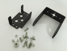 цена на 2 DOF Servo Bracket Mount Kit DIY Robot Arm with Bearing Robotic Platform