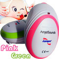 CE/FDA Jumper AngelSounds fetal doppler Pocket Ultrasound Prenatal Fetal Detector Portable Baby HeartRate Monitor