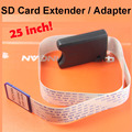 25 inches SD Card Extender Cable for Car GPS Navigation Support SD card,PDA,smart phones, MP3, Digital Camera,GPS