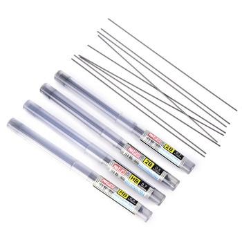 2 cajas de lápiz de 0,5 Mm/0,7 Mm 2B/HB plomo de lápiz de reposición automática para uso escolar o de oficina 11CM