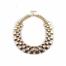 Foreign Short Golden Necklace